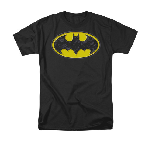 Batman Bats In Logo T Shirt