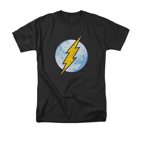 Flash Neon Distress Logo T Shirt