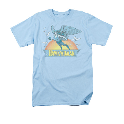 Hawkwoman Sunset T Shirt
