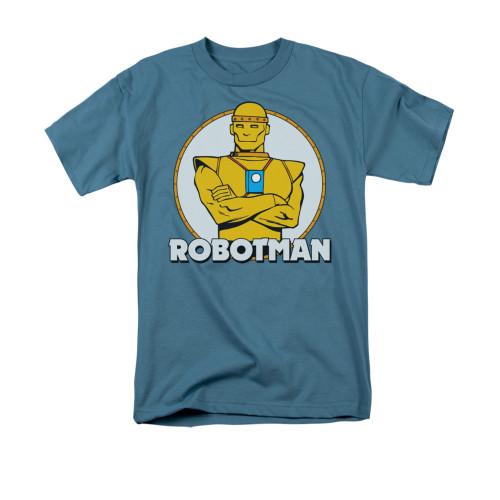 Robotman Over Name T Shirt