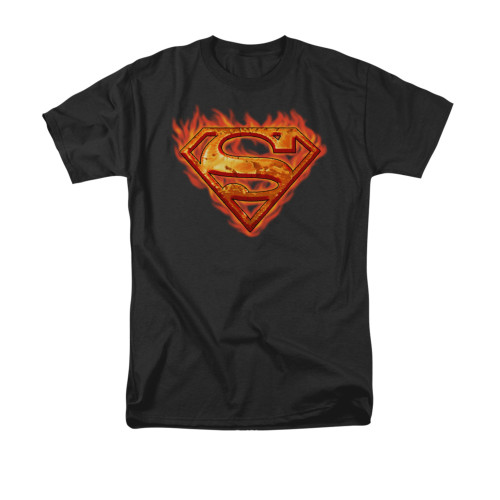 Superman Hot Metal T Shirt