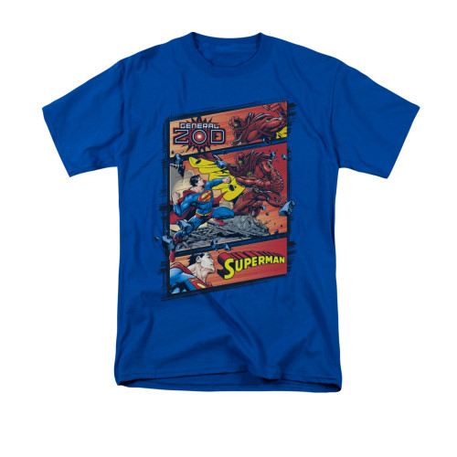 Superman Vs Zod T Shirt