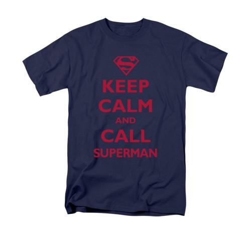Superman Call Superman T Shirt