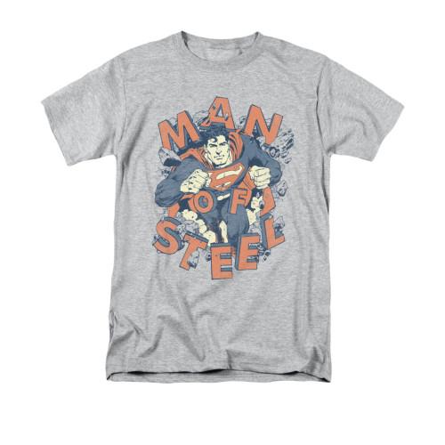 Superman Coming Through T Shirt