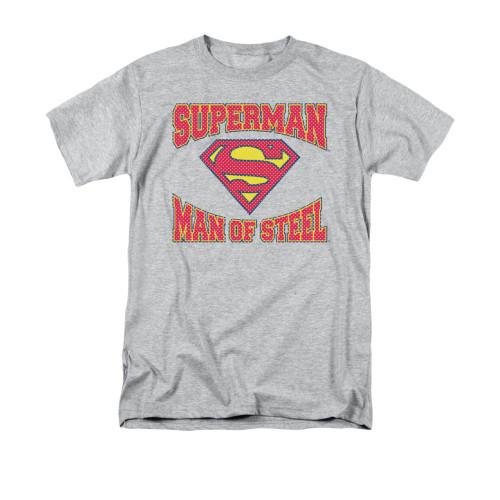 Superman Man Of Steel Jersey T Shirt