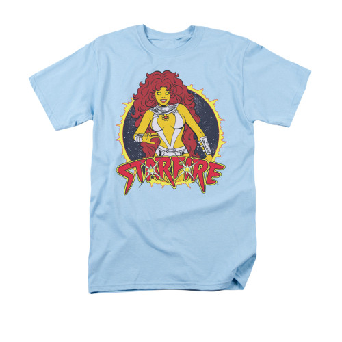 Starfire Name Circle T Shirt