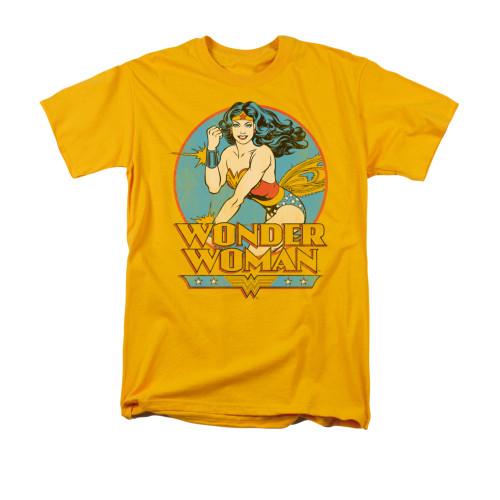 Wonder Woman Vintage Deflect T Shirt