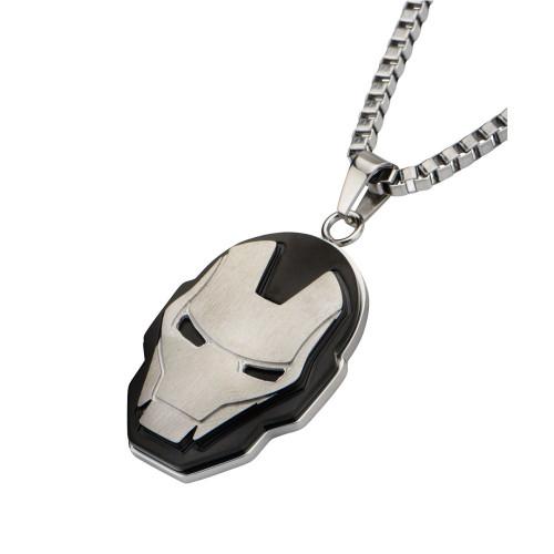 Iron Man Helmet Stainless Steel Necklace