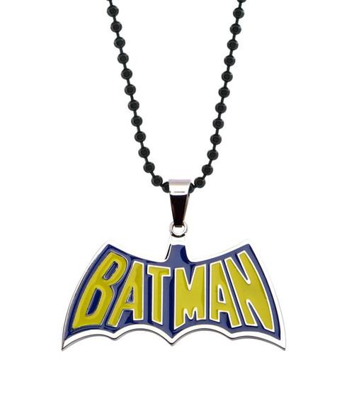 Batman Name Logo Necklace