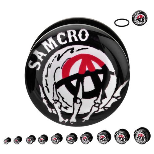 Sons of Anarchy Crystal Ball Acrylic Plugs