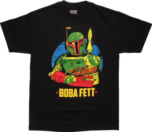 Star Wars Boba Fett Pose T-Shirt