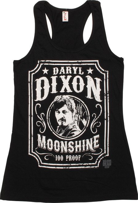 Walking Dead Daryl Dixon Moonshine Junior Tank Top