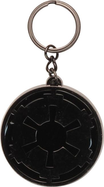 Star Wars Imperial Logo Black Metal Keychain