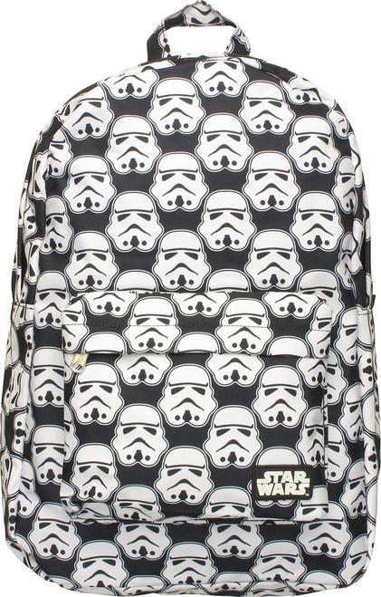 Star Wars Stormtrooper Helmets All Over Backpack