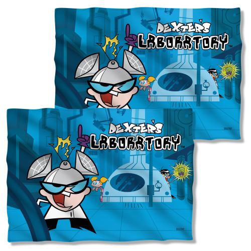 Dexter's Lab Laboratory FB Pillow Case