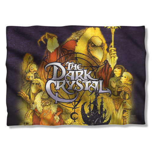 Dark Crystal Poster Pillow Case