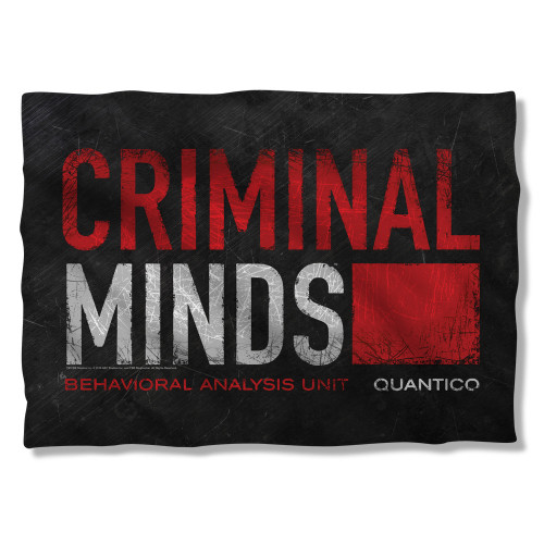 Criminal Minds Logo Pillow Case