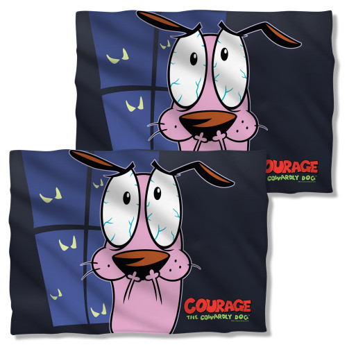 Courage the Cowardly Dog Window FB Pillow Case