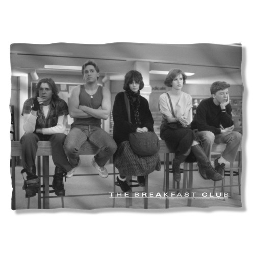 Breakfast Club Group Pillow Case