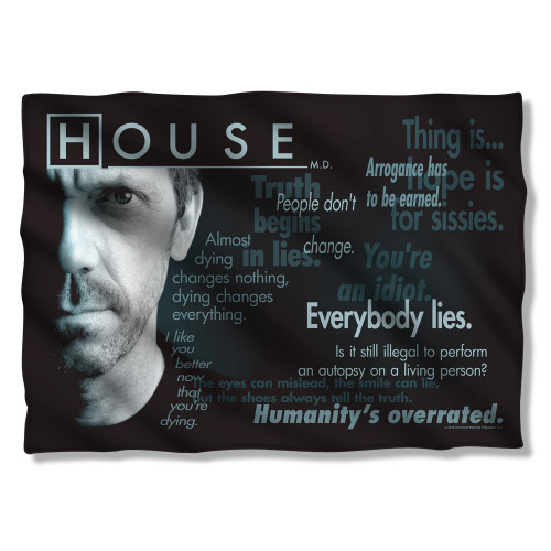 House Houseisms Pillow Case
