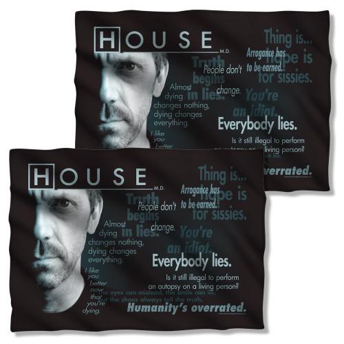 House Houseisms FB Pillow Case