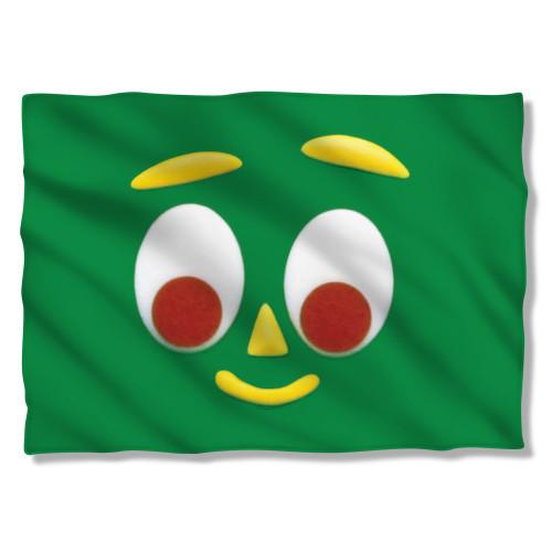 Gumby Big Face Pillow Case