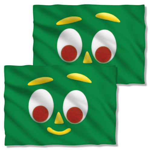 Gumby Big Face FB Pillow Case