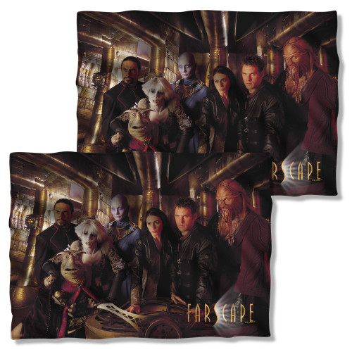 Farscape Crew FB Pillow Case