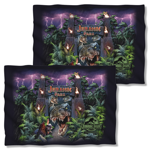 Jurassic Park Welcome to the Park FB Pillow Case