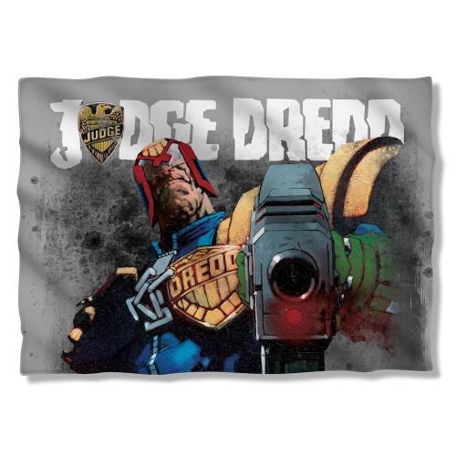Judge Dredd Last Words Pillow Case