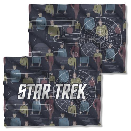 Star Trek Enterprise Crew FB Pillow Case