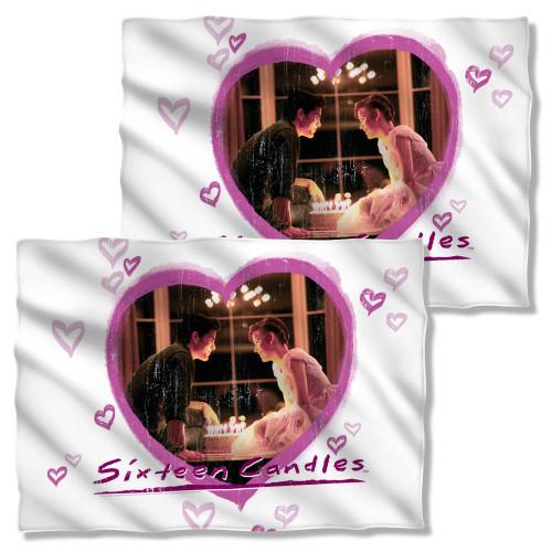 Sixteen Candles Heart FB Pillow Case