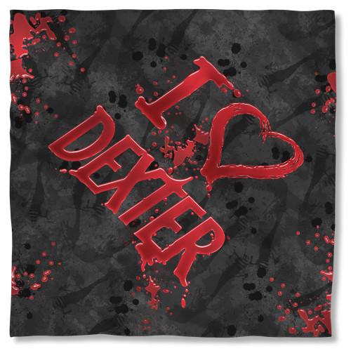 Dexter I Heart Dexter Bandana