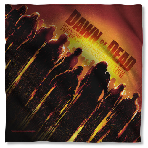 Dawn of the Dead Poster Bandana