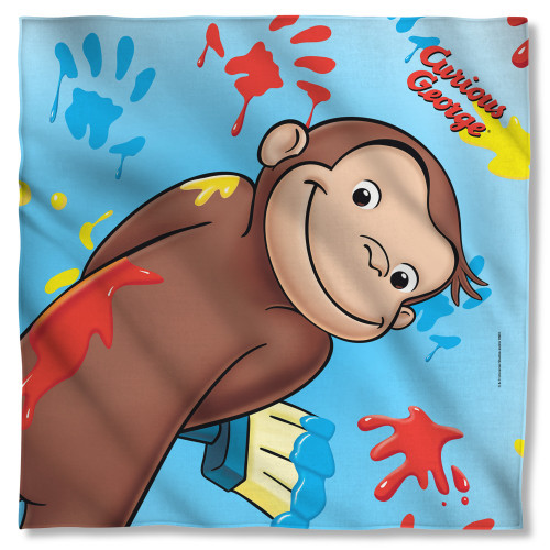 Curious George Paint Bandana