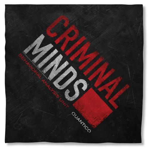 Criminal Minds Logo Bandana