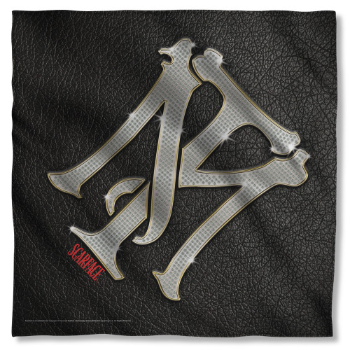 Scarface Monogram Bandana