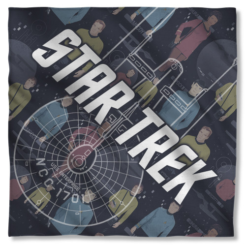 Star Trek Enterprise Crew Bandana