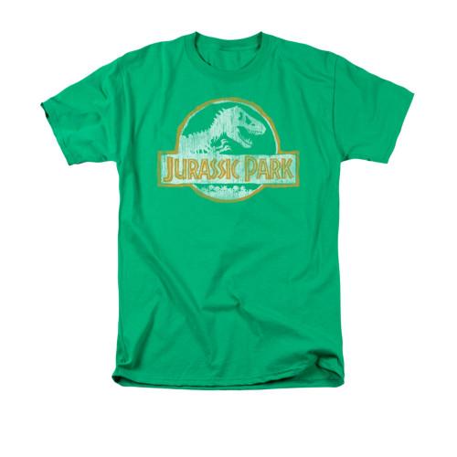 Jurassic Park Jp Orange T Shirt