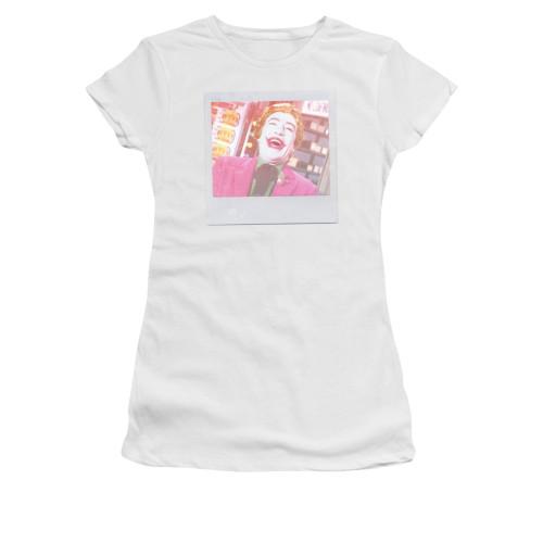 Joker Classic TV Captured Juniors T Shirt