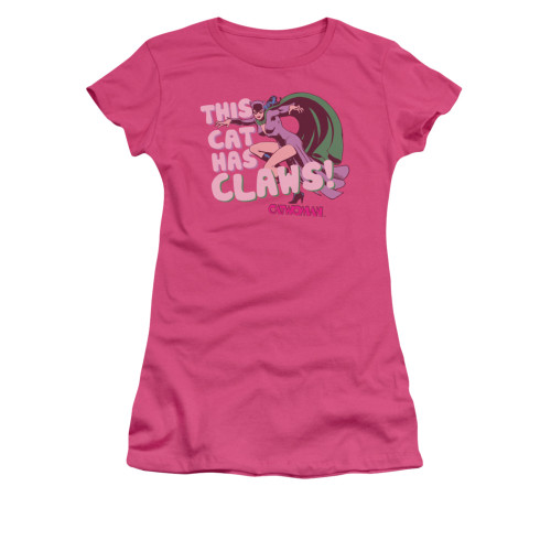 Catwoman Claws Juniors T Shirt