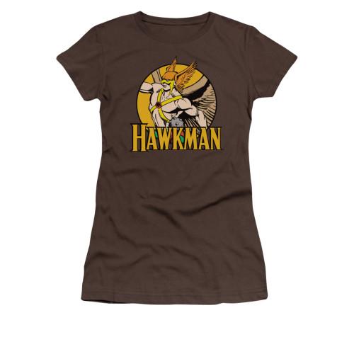 Hawkman Circle Name Juniors T Shirt