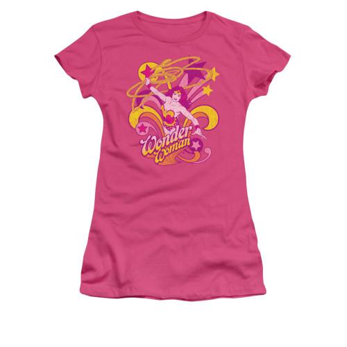 Wonder Woman Save Me Juniors T Shirt