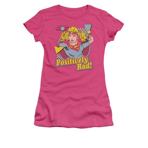 Supergirl Positively Rad Juniors T Shirt
