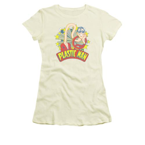 Plastic Man Star Name Juniors T Shirt