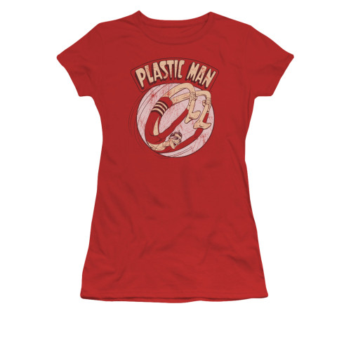 Plastic Man Bounce Juniors T Shirt