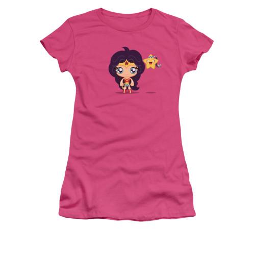 Wonder Woman Cute Wonder Woman Juniors T Shirt