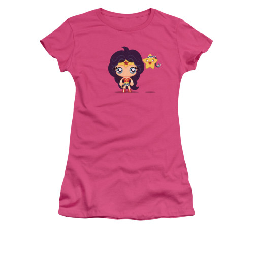 Wonder Woman Cute Wonder Woman Juniors T Shirt