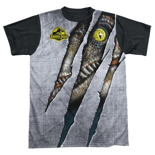 Jurassic Park Live Raptor BB Sublimated T Shirt
