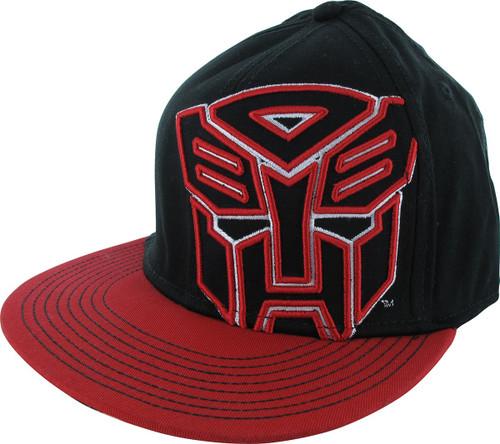 Transformers Autobot Raised Logo Hat